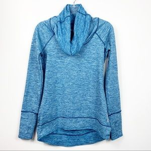 Reebok   Pullover Cowl Neck Athletic Top
